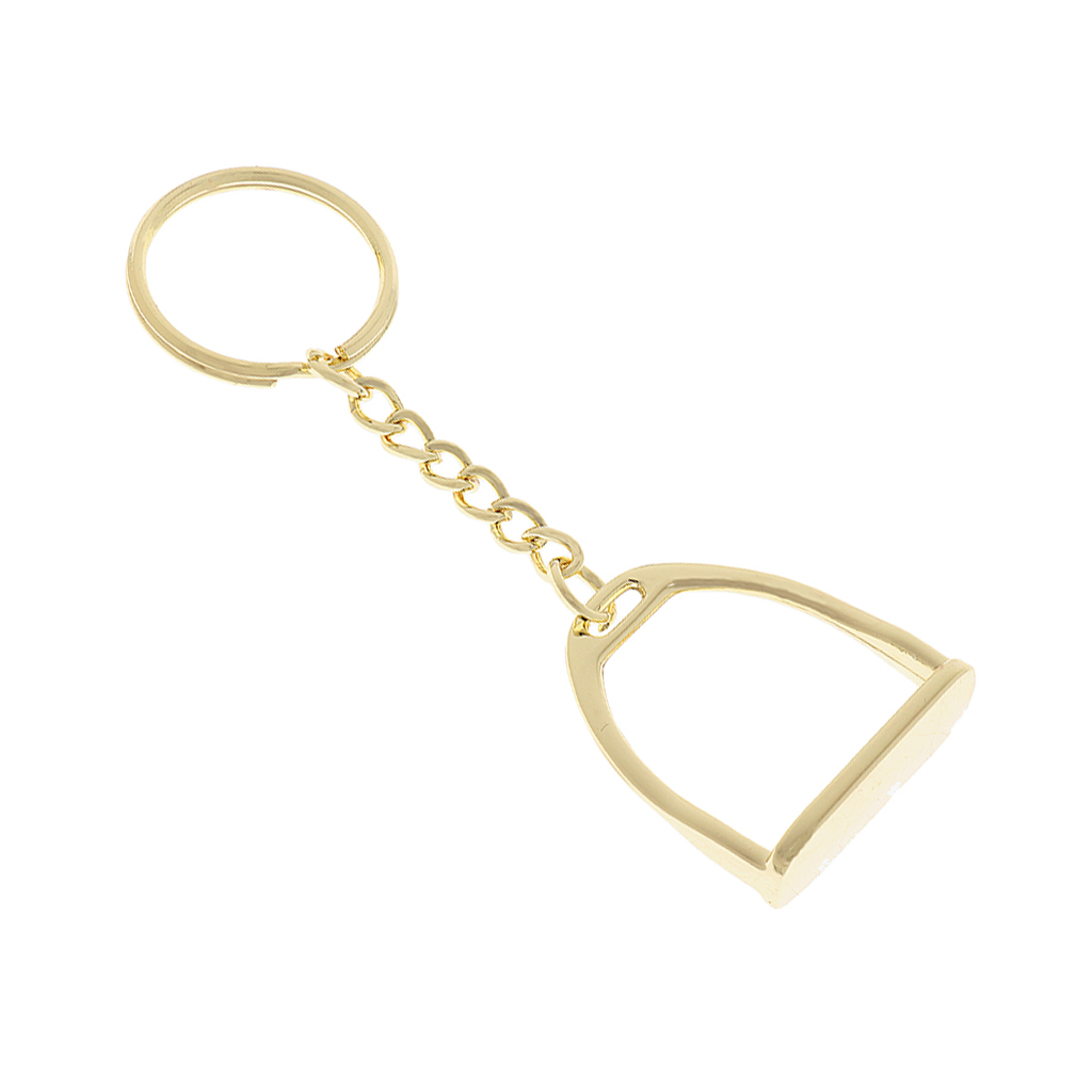 Zinc Alloy Keychain Key Ring Stirrup Men Women Outdoor Horse Riding Equestrian Equipment SuppliesZinc Alloy Keychain Key Ring Stirrup Men Women Outdoor Horse Riding Equestrian Equipment Supplies