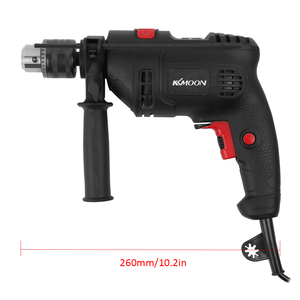 Image 5 - Adjustable Speed Electric Drill Impact Drill Electric Hammer Drill High Power 220V Dual use Positive Negative Rotation Tool