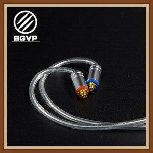 BGVP 5N 160 rdzeń słuchawki Hybrid biały kabel 3.5mm DIY miłośników MMCX wymienne słuchawki Hifi kabel do aktualizacji DM6