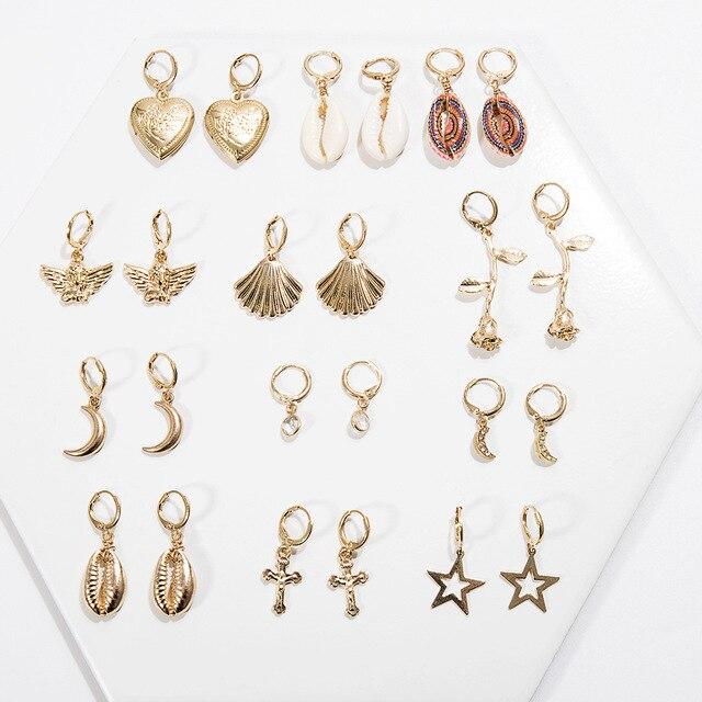 Shell Earrings - 23 Styles 2