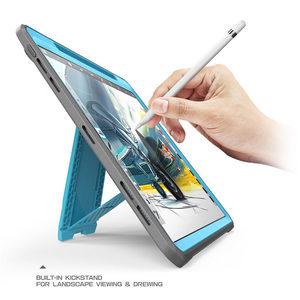 Image 4 - Capa para lápis da apple compatível, capa para ipad pro 11 suporte de corpo inteiro ub capa robusta com construção no protetor de tela & kickstand