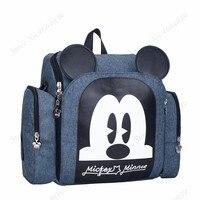 2019 Baby Luiertas Booster Seat Waterdichte Moederschap Rugzak Luiertas Mickey Mouse Verpleging Schoudertas Voor Baby Care 1