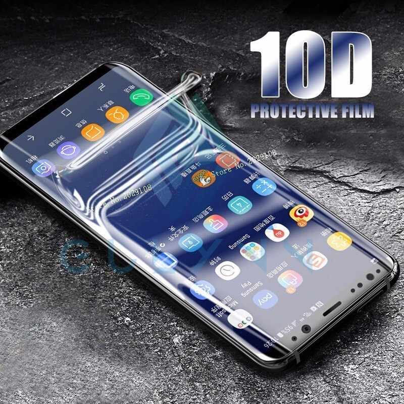 10D Full Protective Soft Hydrogel Film For Samsung Galaxy S10 10E A8 A6S A9S  Screen Protector Film For J3 J 4 6 A6 8 Plus 2018