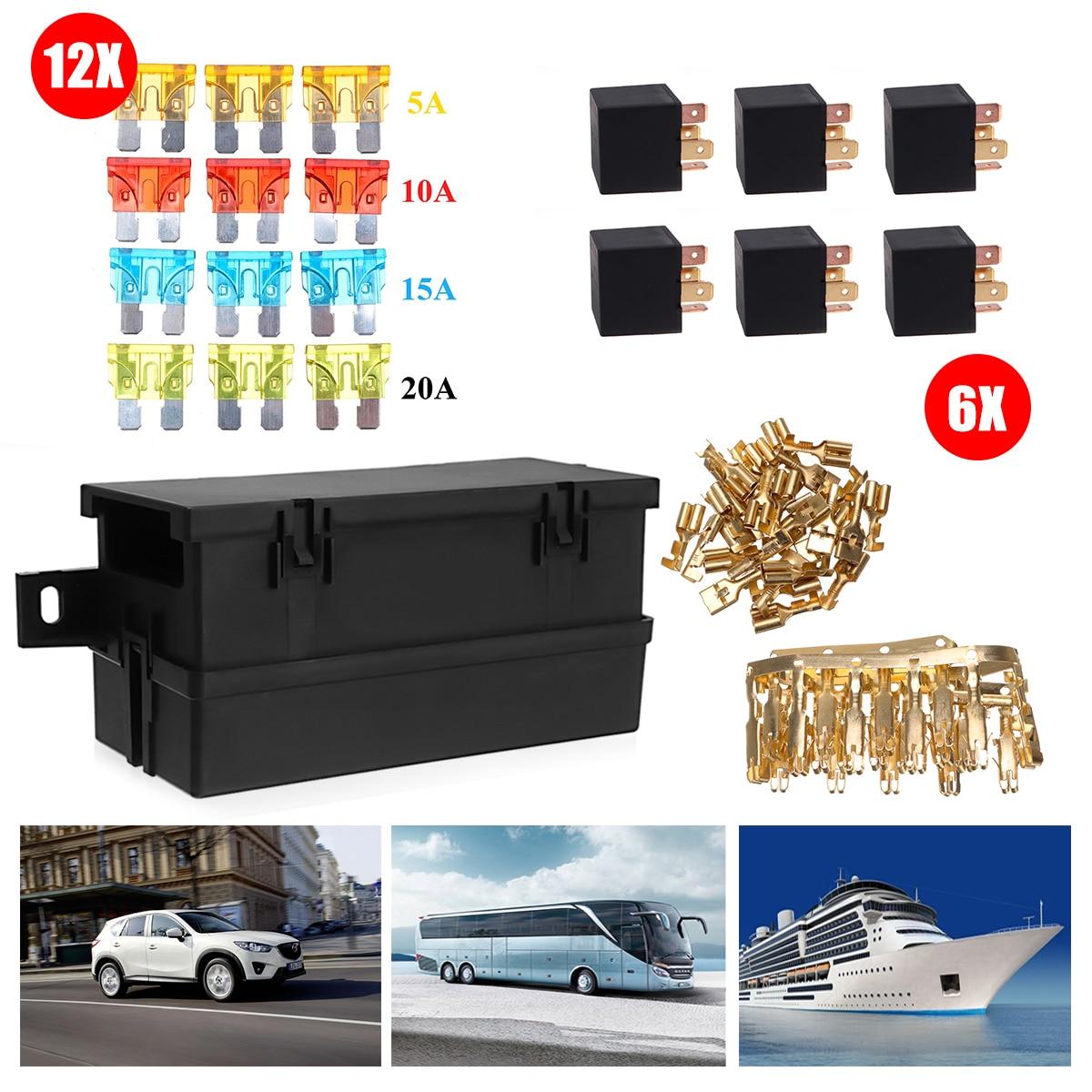 medium resolution of waterproof automotive fuse relay box
