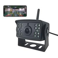 WiFi Car Auto Rear View Backup Camera DC 12V 24V Accessories For Bus Caravan Truck Trailer