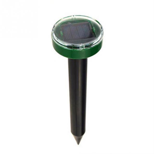 Hot New Mole Repellent Solar Power Eco-Friendly Ultrasonic Gopher Mole Snake Repellent MouseTrap