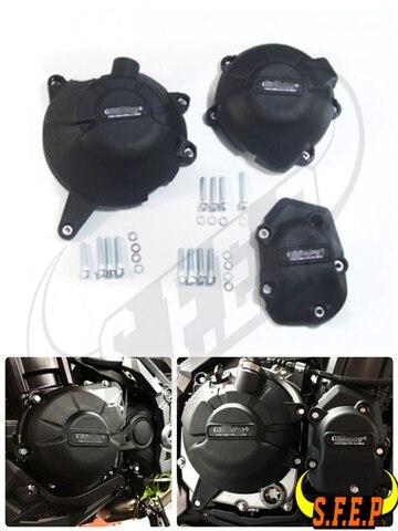 motor da motocicleta caso guard protector capa gb z900 de corrida para kawasaki 2017 2018