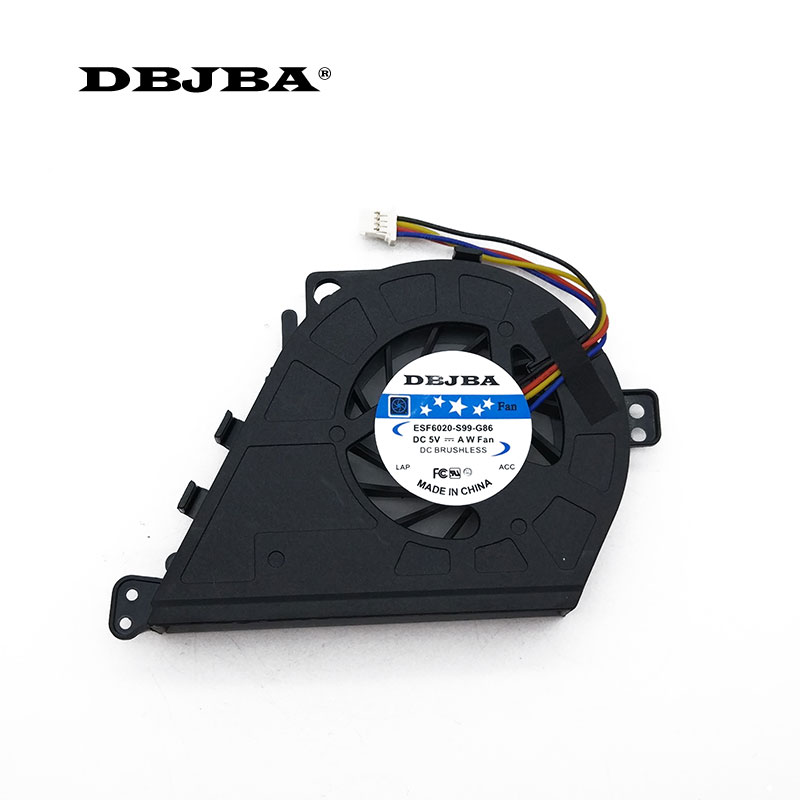 Laptop CPU Cooling <font><b>Fan</b></font> For <font><b>Dell</b></font> <font><b>Latitude</b></font> <font><b>E5430</b></font> DC28000AFSL 082JH0 MF60120V1-C430-G9A <font><b>Fan</b></font> image