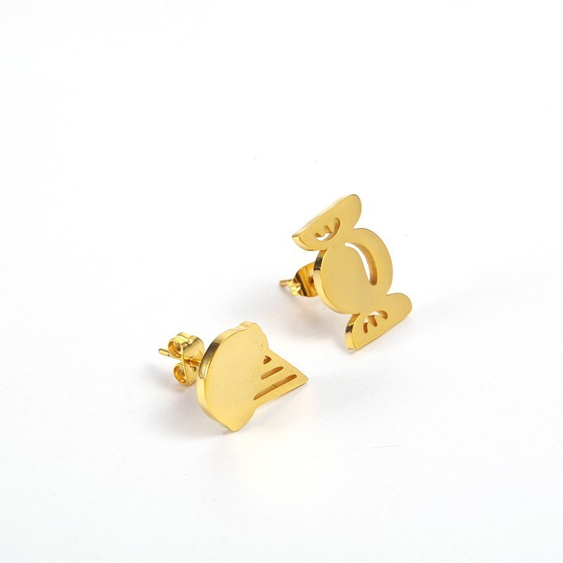 Exquisite Sweet Sweet Candy Ear Studs Lovely Ice Cream Dessert Ear Studs Miniature Food Ear Studs Candy Lover 39 s Gift Korean in Stud Earrings from Jewelry amp Accessories