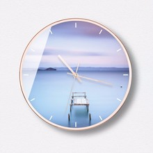 New 3D Wall Clock INS 12inch/14inch Modern Design Quiet Simple Large Size Duvar Saati Home Decoration