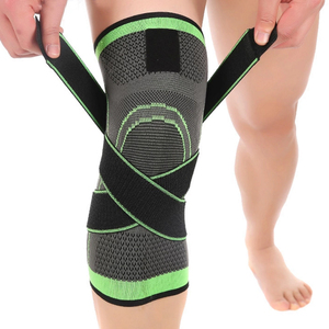 Cycling Knit Knee Brace Suppor