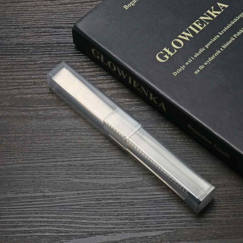 """2 sztuk 4 """"/8"""" miłośników rękodzieła ze stali nierdzewnej gliny Cutter Blade Tissue frezy modelina DIY narzędzia tnące"""