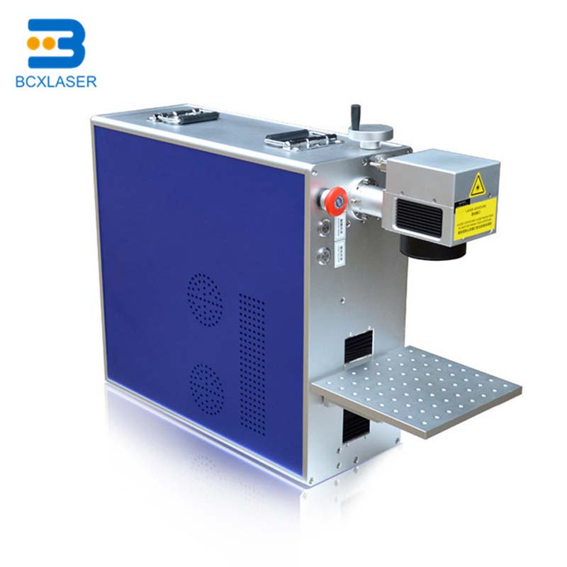 Computer Controlled Fiber Laser Marking Machine For  Metal Material