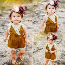 Pudcoco девушка комбинезоны 0-24 M US наличии лето для новорожденных девочек кружевной комбинезон боди-майка с юбкой одежда