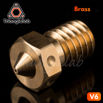 trianglelab 1PC Top quality V6  Nozzles for 3D printers hotend  3D printer nozzle for E3D Nozzles hotend titan extruder 1