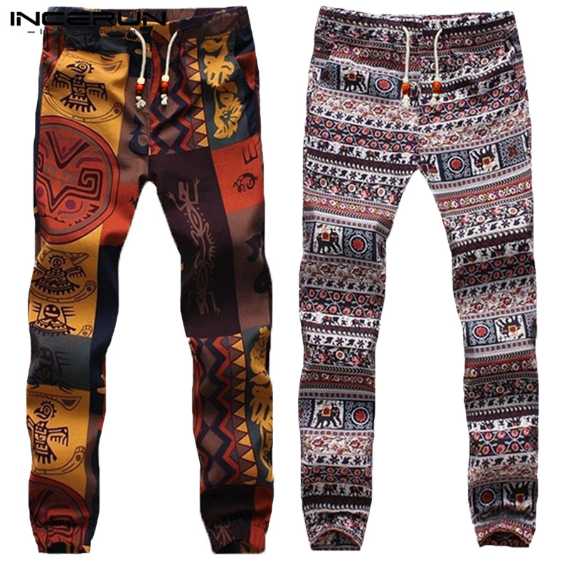 2019 Harajuku Men Harem Pants Hiphop Ethnic Style Bottoms Trousers Men Slim Joggers Women Pantalon Hombre Dance Pants Men 5XL