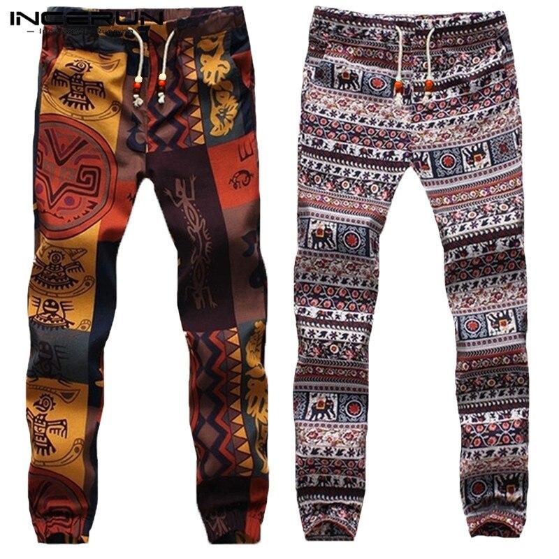 2020 Harajuku Men Harem Pants Hiphop Ethnic Style Bottoms Trousers Men Slim Joggers Women Pantalon Hombre Dance Pants Men 5XL