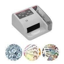 Taşınabilir Mini Para Dedektörü UV MG WM Fatura Sayacı için En Döviz Not Bill Nakit Sayma Makinesi V10 Finansal Ekipmanları
