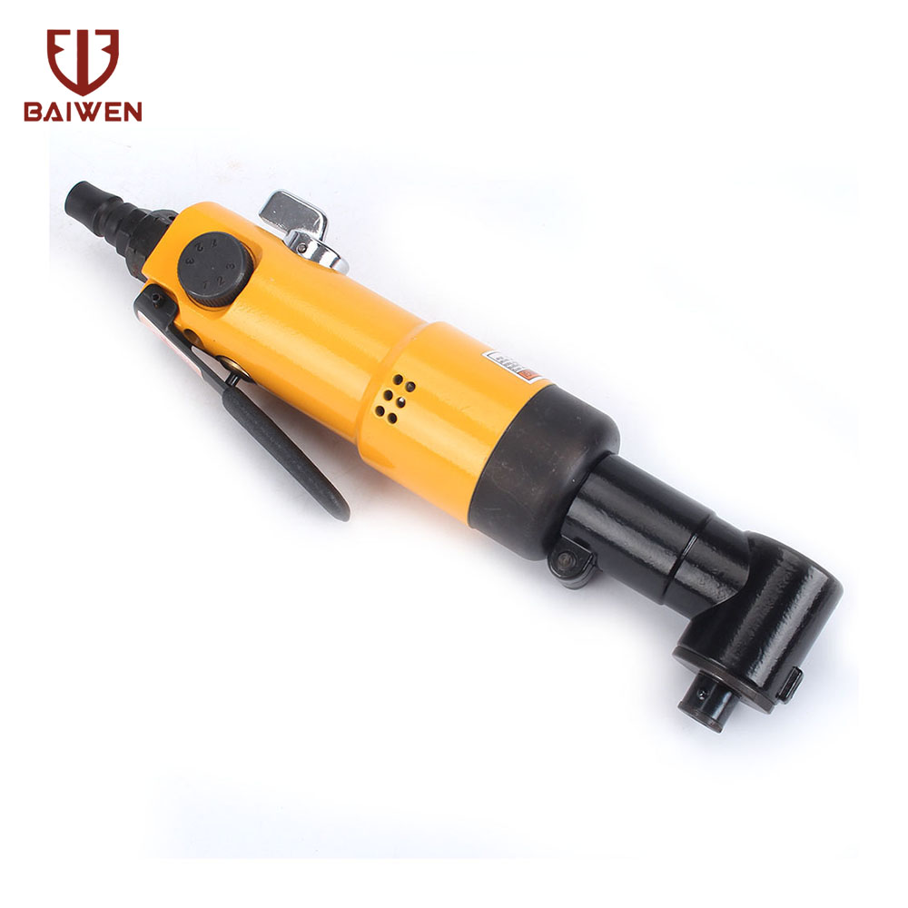 Reversible Air Screwdriver 90 Degree Professional Pneumatic Tool 9000RpmReversible Air Screwdriver 90 Degree Professional Pneumatic Tool 9000Rpm
