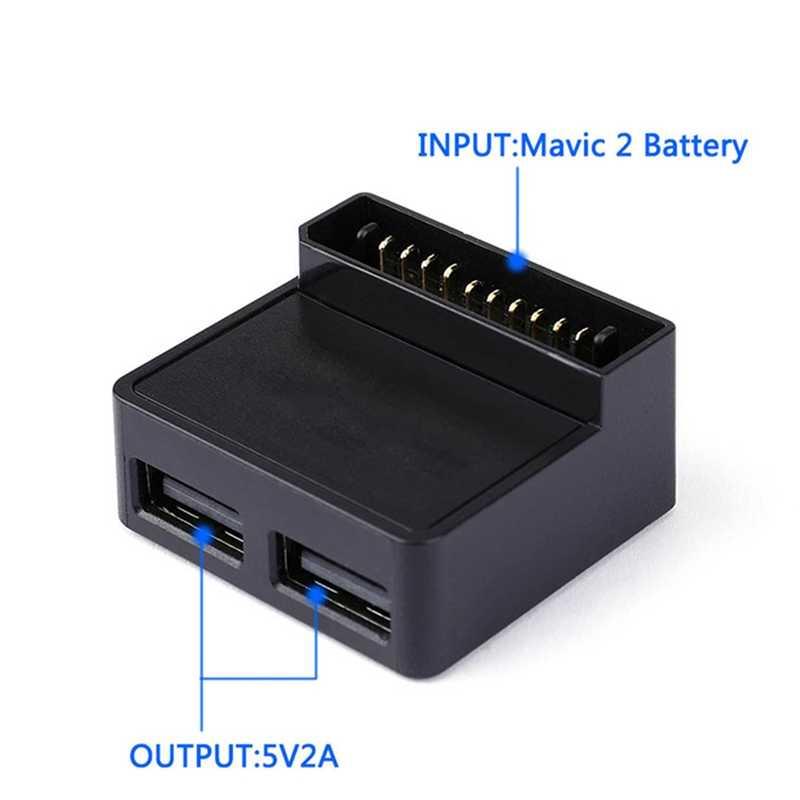 Преобразователь батареи для Dji Mavic 2 Zoom Drone батарея для питания запасной переходник зарядное устройство конвертер Drone аксессуары