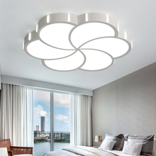 Omicron Modern Ceiling Lights Ironware Acrylic High Brightness Creativity Warm For Dining Room Living Remote Control Lamp