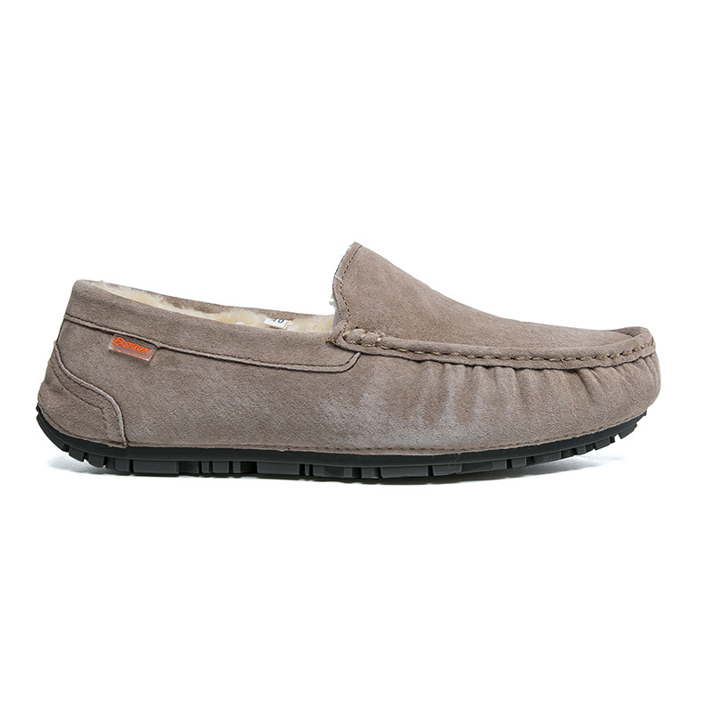 Barco Calçados Luxo Couro Adultos gray Sapatos Sneakers Mocassins Deslizamento Homem Hombre Black Homens Em Calçado De Dos Camurça blue brown Masculinos Casuais khaki Inverno Para Zqq50Tw