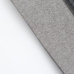 Image 4 - 4 sztuk samochodów stylizacji wnętrza skóra z mikrofibry Panel drzwi naklejka na pokrywę wykończenia dla Mazda 3 2004 2005 2006 2007 2008 2009