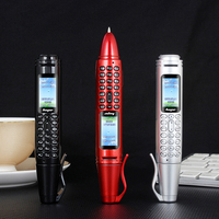 Mafam AK007 Pen Mini Cellphone 0.96 Tiny Screen GSM Dual SIM Camera Flashlight Bluetooth Dialer Mobile Phones with Recording