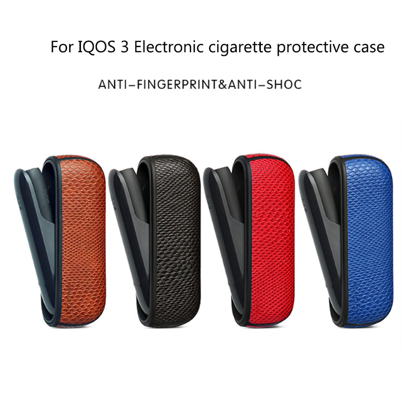 Pu Leather Case For Iqos 3.0 Protective Cover For Iqos3 Holder Pouch Bag Carrying Cases