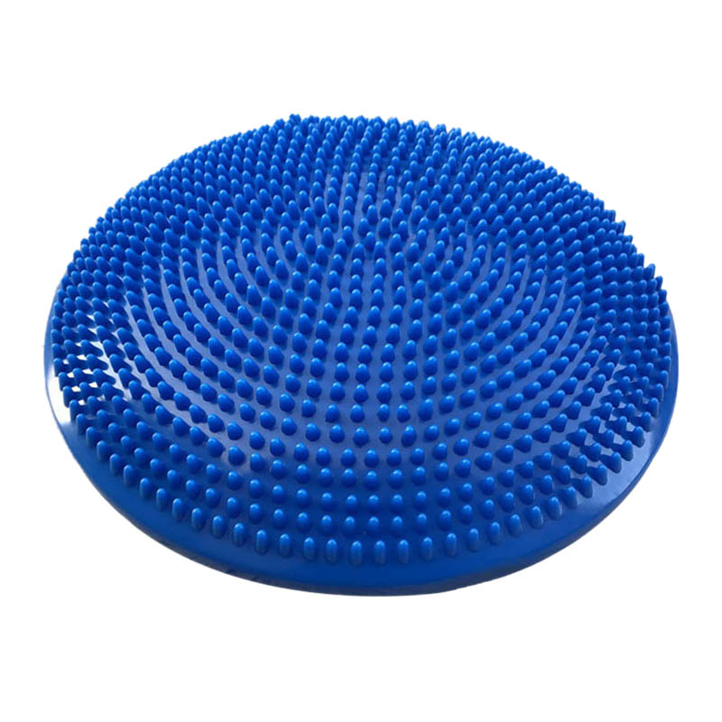 Yoga Balanced Mats Massage Pad Cushion Balance Disc Balance Ball Riot Yoga Cushion Ankle Rehabilitation Cushion Pad-in Yuga Mats from Consumer Electronics