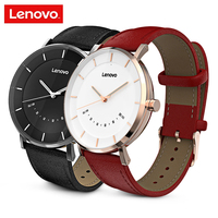 Lenovo Watch S Quartz Smartwatch Business Leisure 5ATM Waterproof Fitness Keeper Sport Running Smart Watch 12Months Long Standy