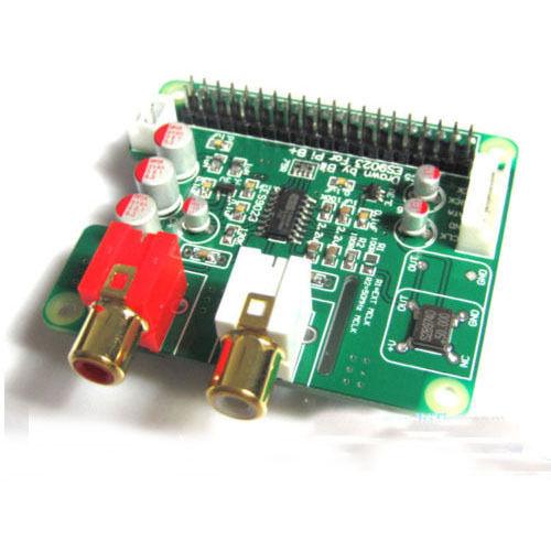 I2S HiFi DAC ES9023 Expansion Board Decode Board Encoder For Raspberry Pi2 Pi3 B+