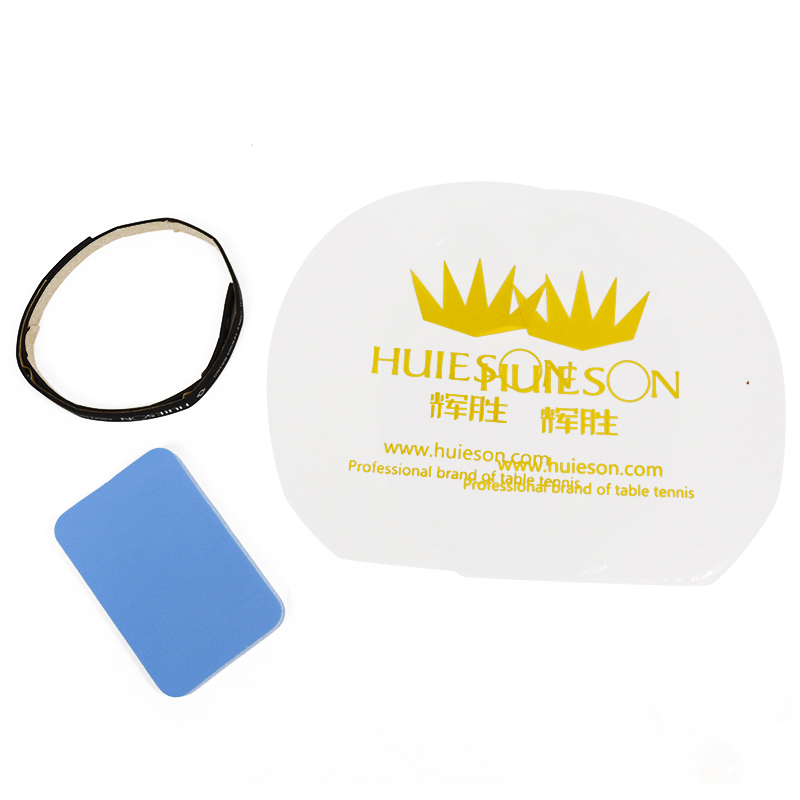 HUIESON Professional Table Tennis Rubber Protective Film+Cleaner Sponge+ Racket Edge Protection Tape Table Tennis Accessories