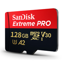 SanDisk Extreme Pro 128G Micro SD Memory Card Ultra A2 16GB 32GB 64GB 256GB 170MB/s SDHC/SDXC UHS I C10 U3 V30 TF Micro Card