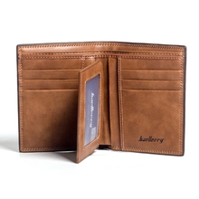 Fashion Mens Short Wallet Casual Korean Version Cross-Section Simple Soft