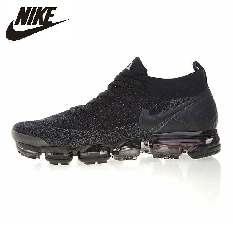 Nike Air VaporMax Hommes de chaussures de course Non-Slip Espadrilles D'absorption Des Chocs Respirant Extérieur chaussures de sport #942842-012