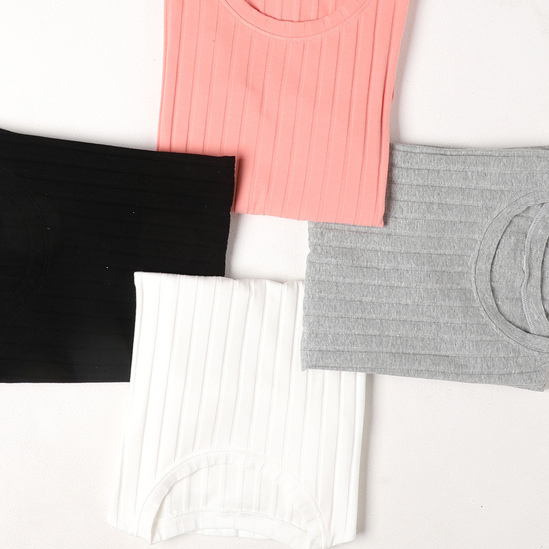 Long sleeve elastic knitted t shirt female solid large size o neck bottoming t shirt thin warm knitting cotton t shirt women in T Shirts from Women 39 s Clothing
