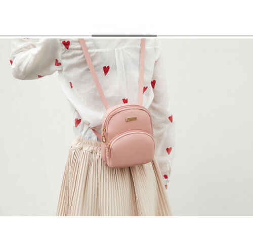 女性レディーガール旅行クロスボディジップバックパックスクールバッグジップバッグ