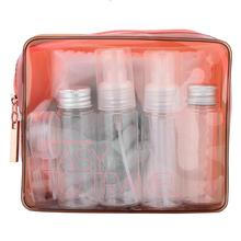 15pcs Makeup Tools Kit Portable Spray Refillable Makeup Bott