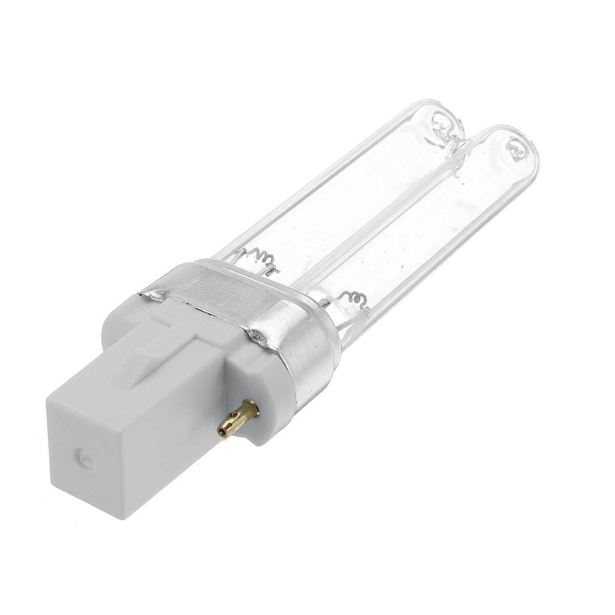 UVC Bi-pin G23 базовый кварцевый сменный линейный двухтрубный светильник SUNSUN Jebo UV стерилизаторы осветители аквариума 5 Вт-36 Вт
