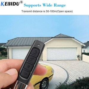 Image 2 - KEBIDU 433MHZ Remote Control Garage Gate Door Opener Remote Control Duplicator Clone Cloning Code Car Key