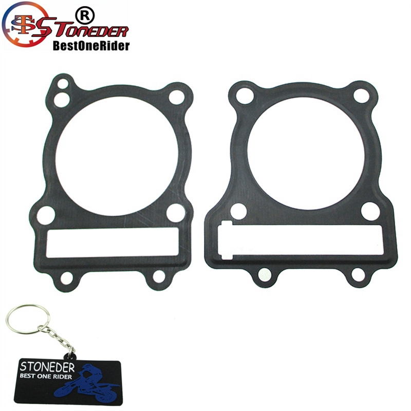 Cylinder Head Gasket 2 Per Engine 07v103147: STONEDER Engine Cylinder Head Gasket For Z190 Zongshen