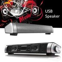 Big Power 3W*2 HIFI Portable Wireless Bluetooth Speaker Stereo Soundbar TF FM USB Subwoofer Column for Computer TV Phone