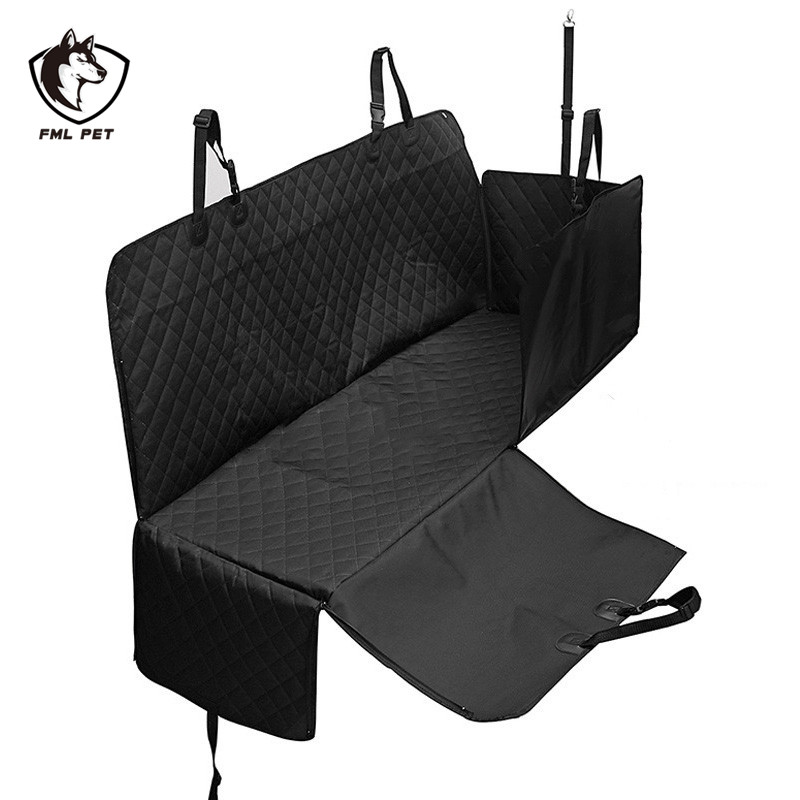 FML Pet Car Seat Cover Nonslip Zipper Waterproof Car Seat Hammock for Small Large Dogs Outdoor