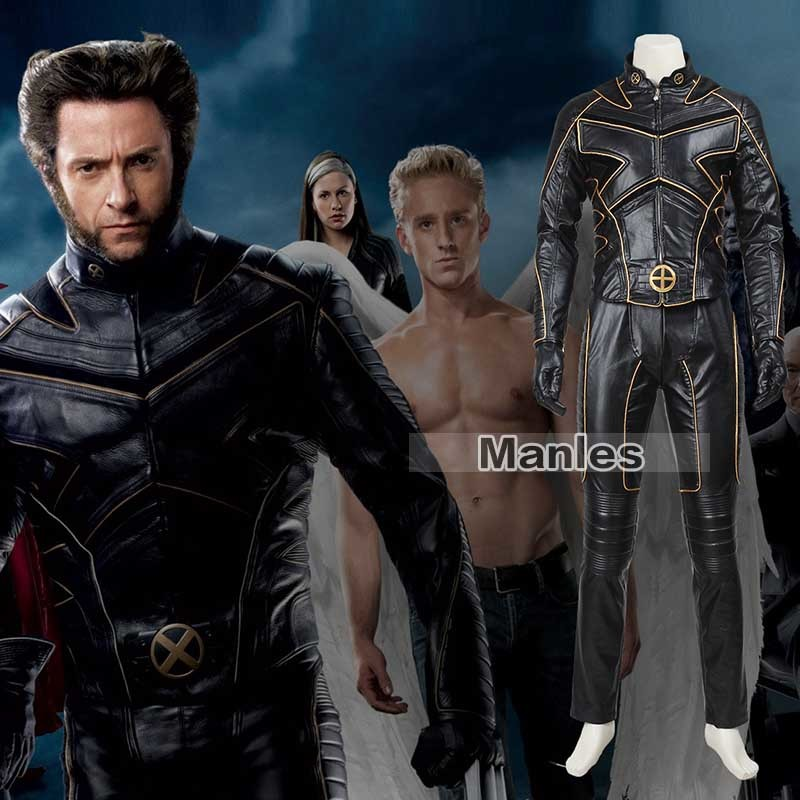 X men Cosplay Costume James Logan Howlett Jacket Halloween Christmas Carnival Superhero Coat Adult Men Custom