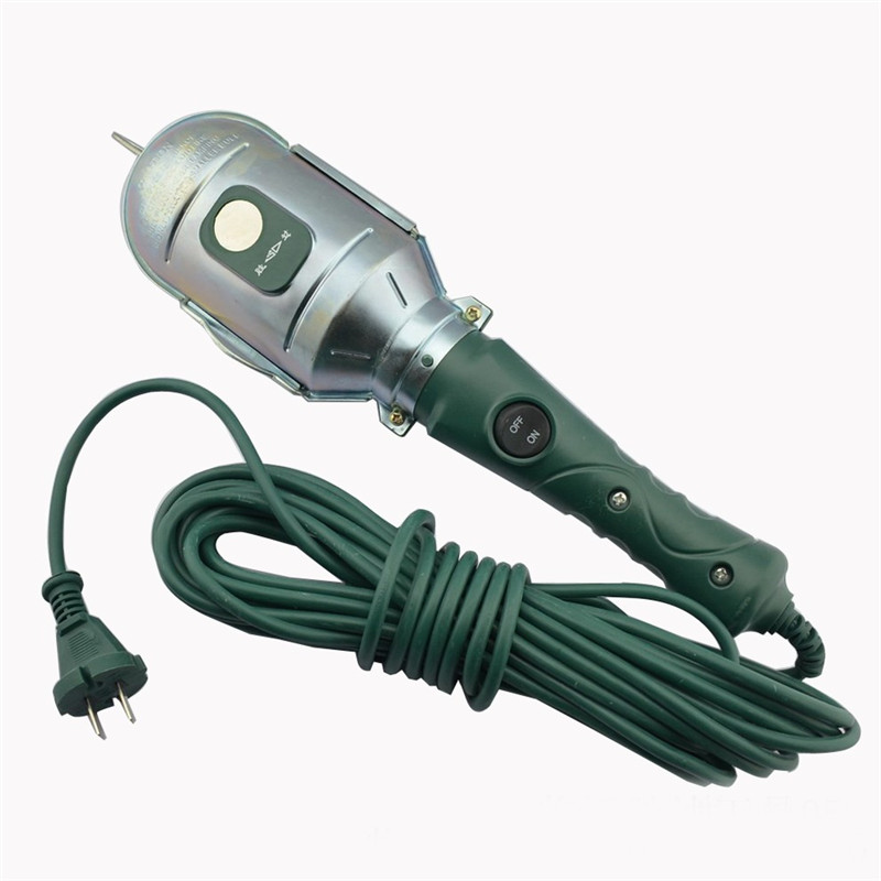 CLAITE Strong Magnetic Work Light Portable Mobile Lamp Handy Repair Light Cars Bicycles Mechanica Light with US Plug AC220V