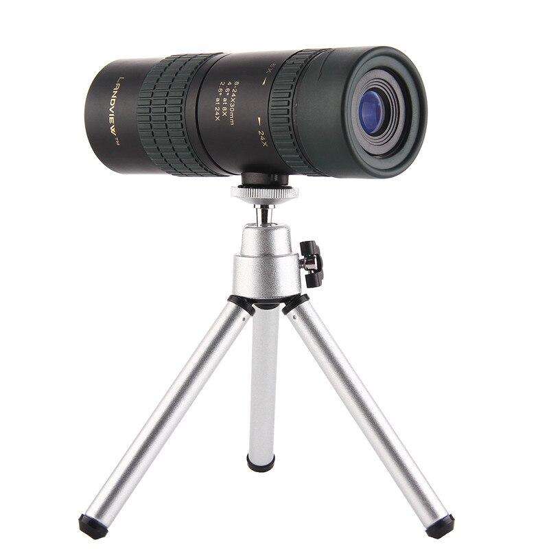 8-24X25/Mini zoom monoculaire/télescope miroir/oculaire/monoculaire/objectif lentille hd télescope pour télescopes mobiles monoculars17