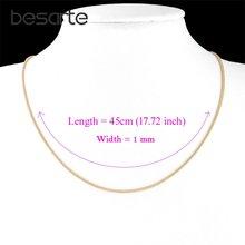 Ожерелье с золотой цепочкой для мужчин и женщин n0608 ювелирное