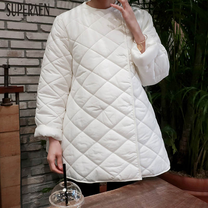 SuperAen Warm Parkas Coat Female Korean Style Wild Cotton Casual 2018 Women Parkas Coat New Winter