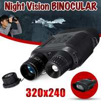 Цифровой бинокль ночного видения инфракрасного ночного видения 1300ft/400 m высокой четкости для охоты фото камеры видео рекордер